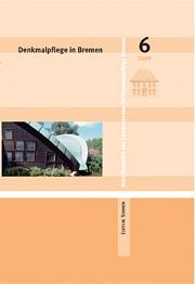 Denkmalpflege in Bremen, Heft 6