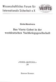 Das Vierte Gebot in der westdeutschen Nachkriegsgesellschaft