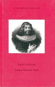 Der Pastor Johann Heinrich Horb