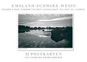 Emsland schwarz-weiß (Postkartenbuch)