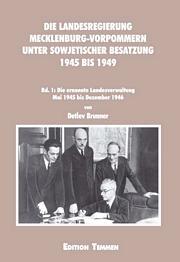 Die Landesregierung in Mecklenburg-Vorpommern