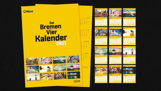 Der Bremen Vier Kalender 2021