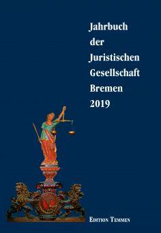 Jahrbuch der Juristischen Gesellschaft Bremen 2019